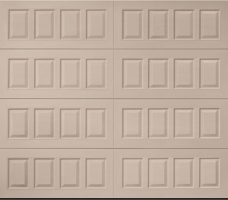 Oak Summit Sandtone Raised Panel Garage Door