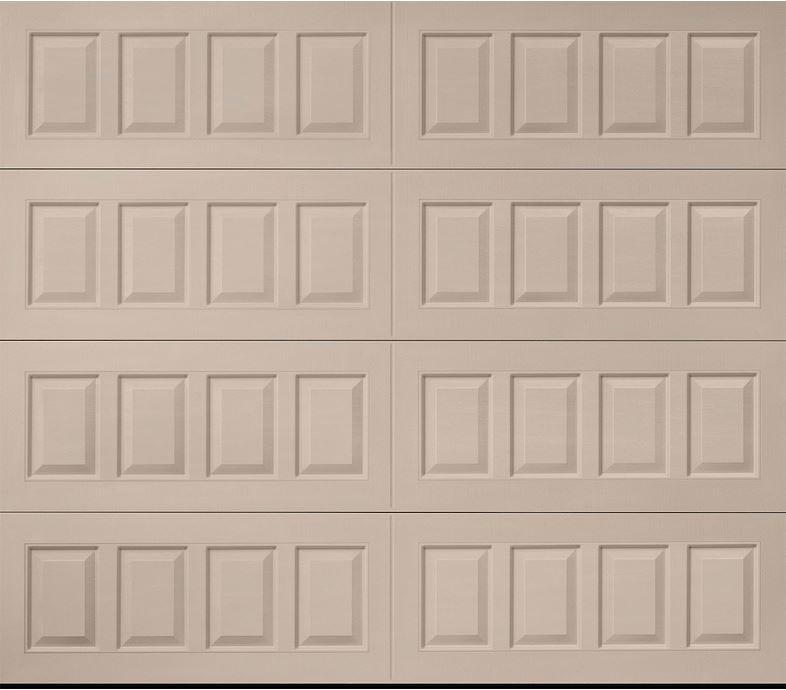 Oak Summit Sandtone Raised Panel Garage Door