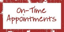 On-time appointments garage door repair Richardson