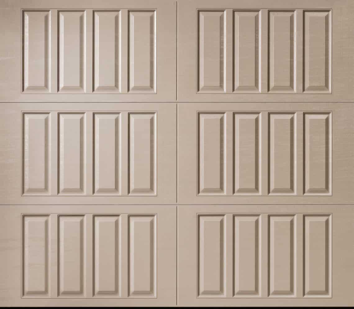 Classica northampton garage door white 9 x 8 no windows - Amarr Classica Bordeaux Closed Square
