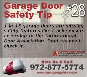 Garage Safety Tip 28 - get safety equipment