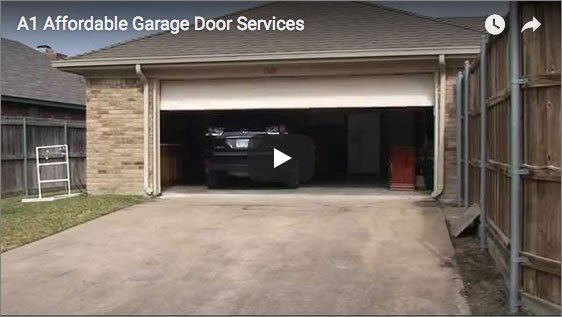 A1 Affordable Garage Door Services Video