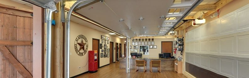 Visit the A1 Affordable Garage Door Services showroom in Plano Texas