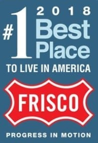 Frisco TX number 1 best place to live in america 2018