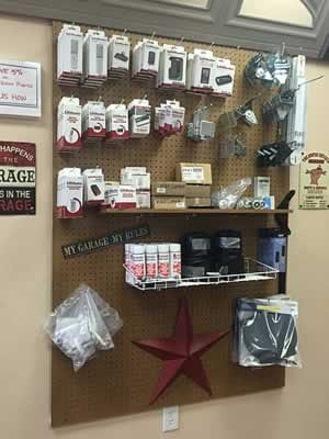Plano Showroom Garage Door Parts